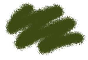 Краска акриловая Акриловая краска темно-зеленая