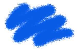 Краска акриловая Акриловая краска синяя
