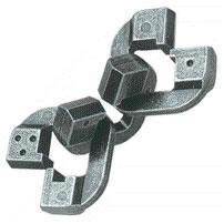 3D Головоломка Цепь