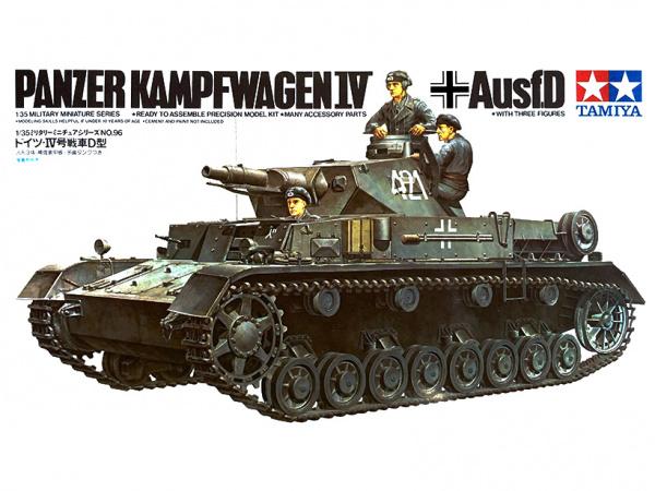 Немецкий танк Pzkpw IV Ausf.D 1939г. (1:35)