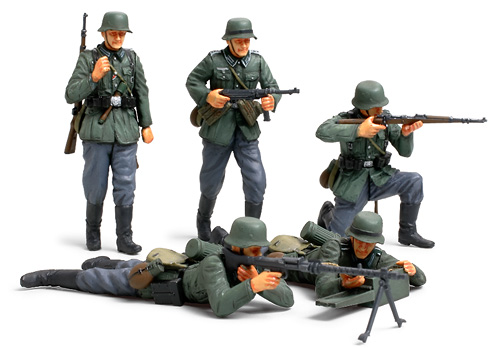 Сборная модель Немецкие пехотинцы