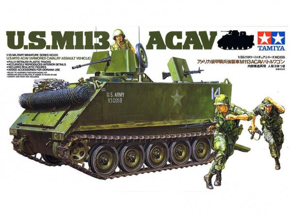 Сборная модель Американская БМП-амфибия М113 ACAV