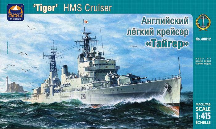 Модель Английский лёгкий крейсер «Тайгер»