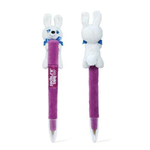 Зайка ручка мягкая 18 см