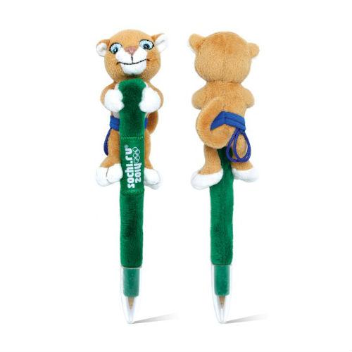 Леопард ручка мягкая 18 см