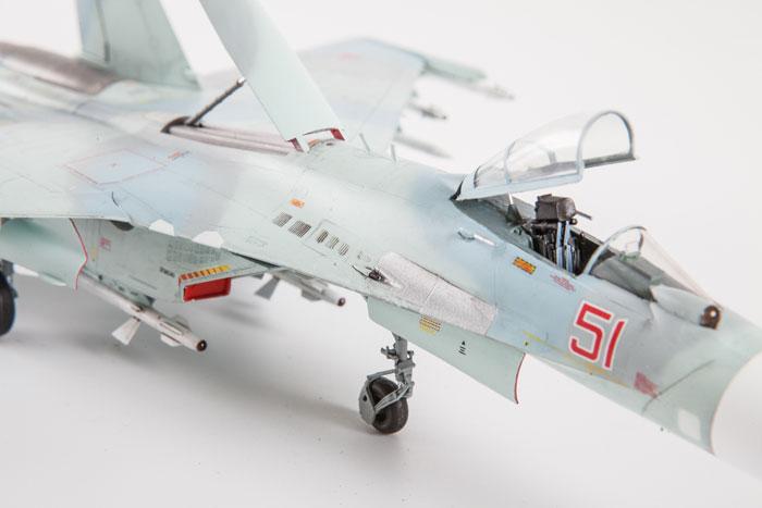 Сборная модель - Су-27 СМ.