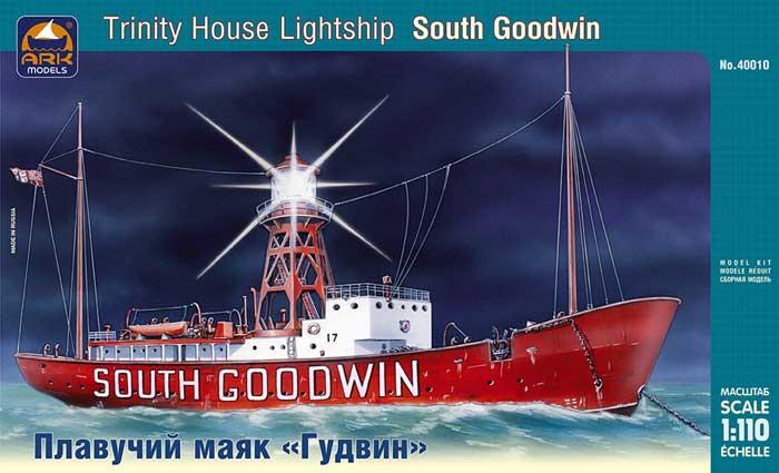 Сборная модель Плавучий маяк Гудвин