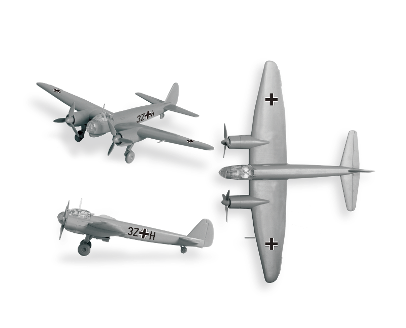 "Немецкий бомбардировщик ""Юнкерс"" Ju-88A4."