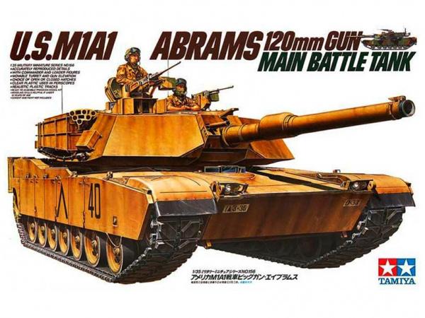 Модель Американский танк Абрамс U.S.M1A1 Abrams