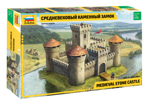 Model Kit Medevel Castle
