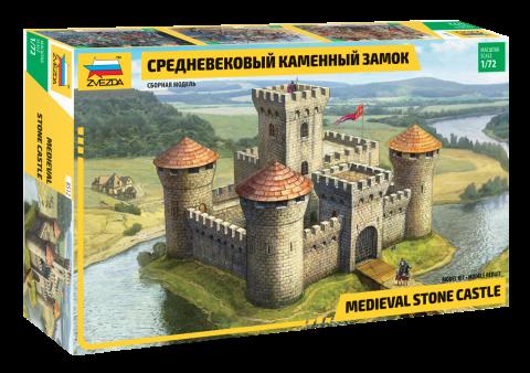 Модель Средневековый каменный замок