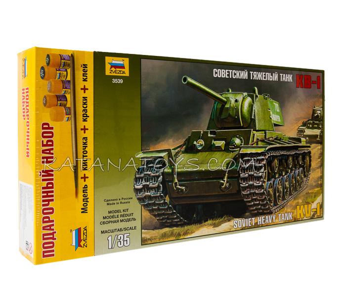 Сборная модель Тяжёлый танк КВ-1
