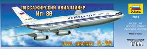 Пассажирский лайнер Ил-86