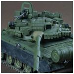 Модель - Основной боевой танк Т-80БВ.