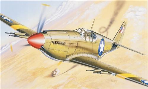 Сборная модель Самолет P-51 Mustang