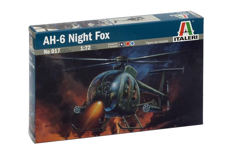 Модель Вертолет AH-64 NIGHT FOX