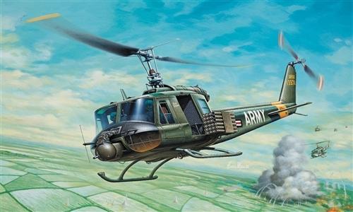 Сборная модель ВЕРТОЛЕТ UH-1B HUEY