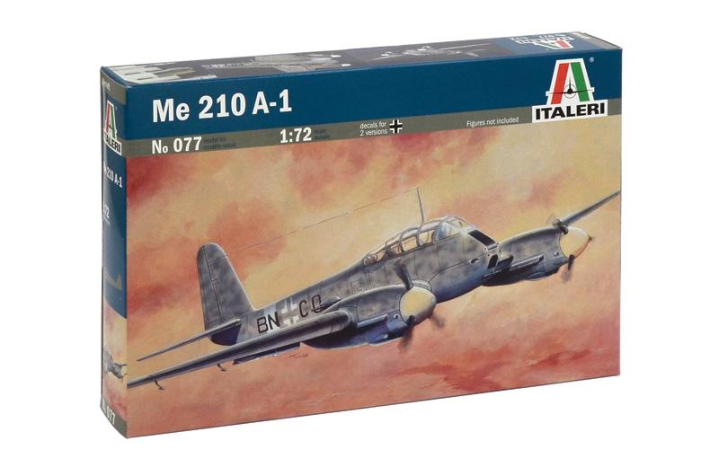Сборная модель САМОЛЕТ Me 210 A1