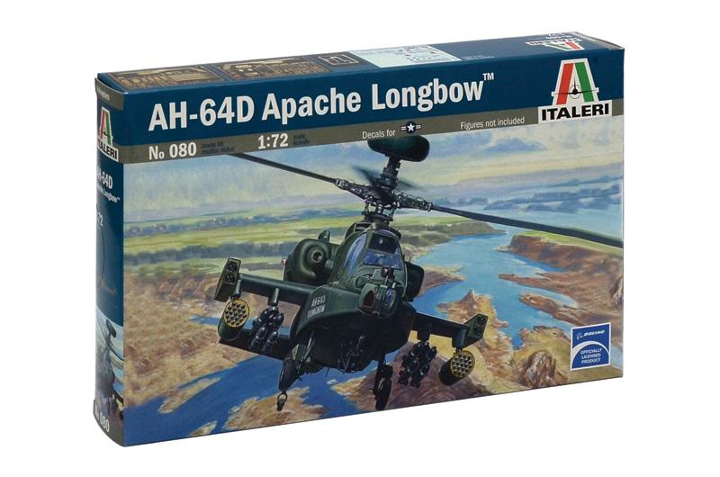 Сборная модель Вертолет AH-64D Apache Longbow