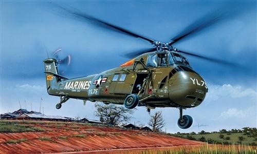Сборная модель Вертолет UH-34J Sea Horse