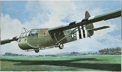 Сборная модель Самолет Waco CG-4A