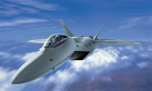 Модель Самолет F-22 Raptor