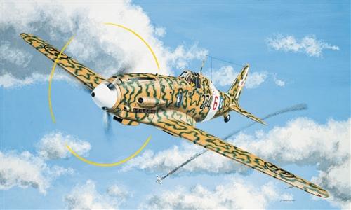 Сборная модель Самолет Macchi MC202 Folgore