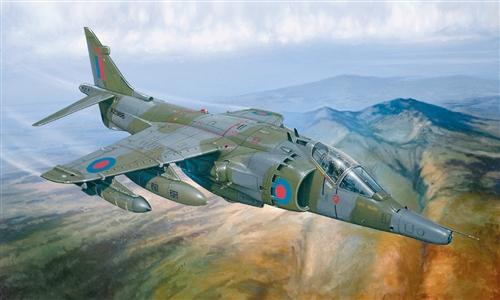 Сборная модель Самолет Harrier GR.3