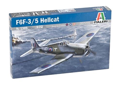 Сборная модель Самолет F6F-3/5 Hellcat