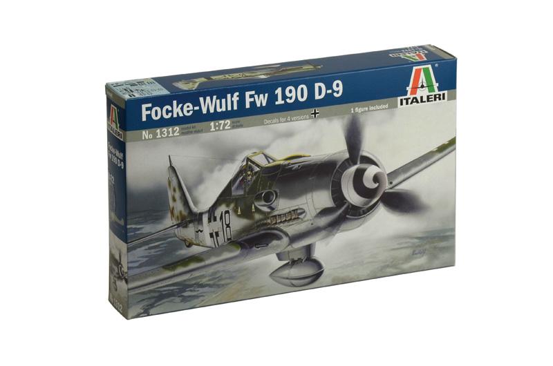 Сборная модель Самолет FOKCEWULF FW-190D-9