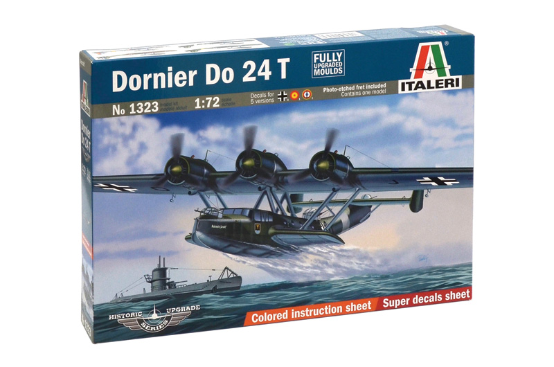 Сборная модель Самолет DO.24Т