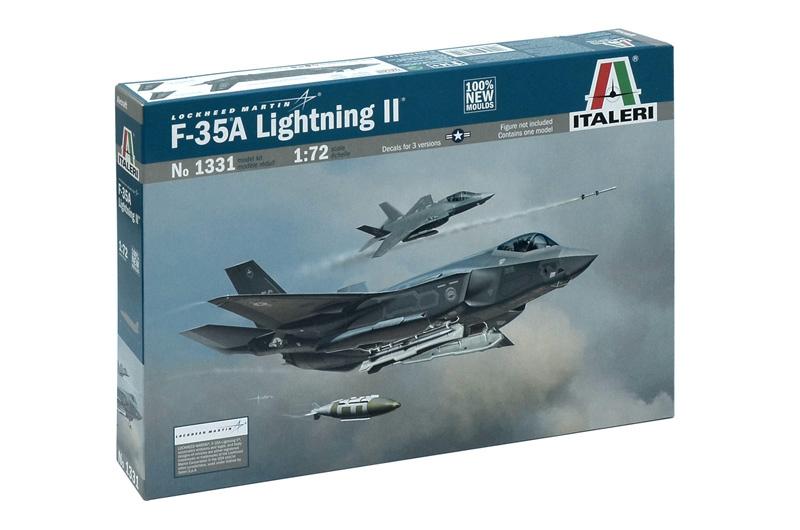 Сборная модель САМОЛЕТ LOCHKEED F-35 A Lightning II