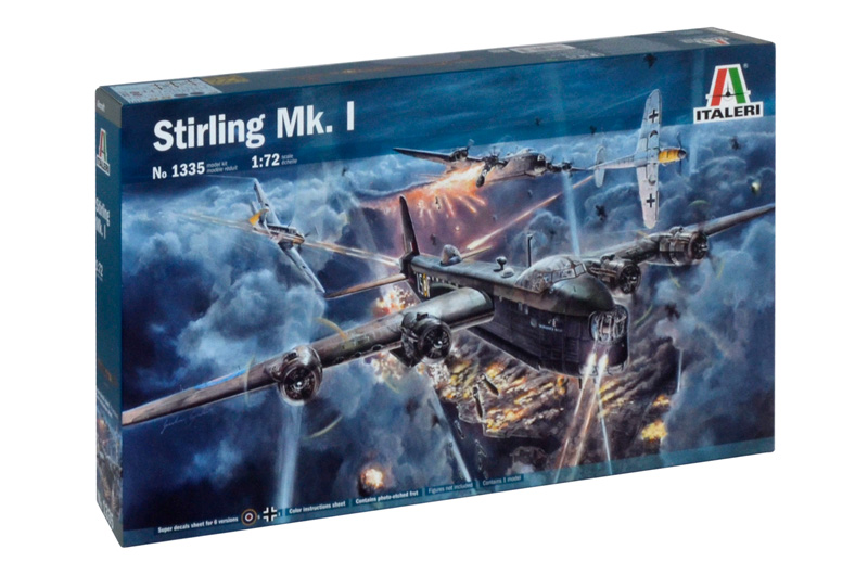 Сборная модель САМОЛЕТ STIRLING Mk.l