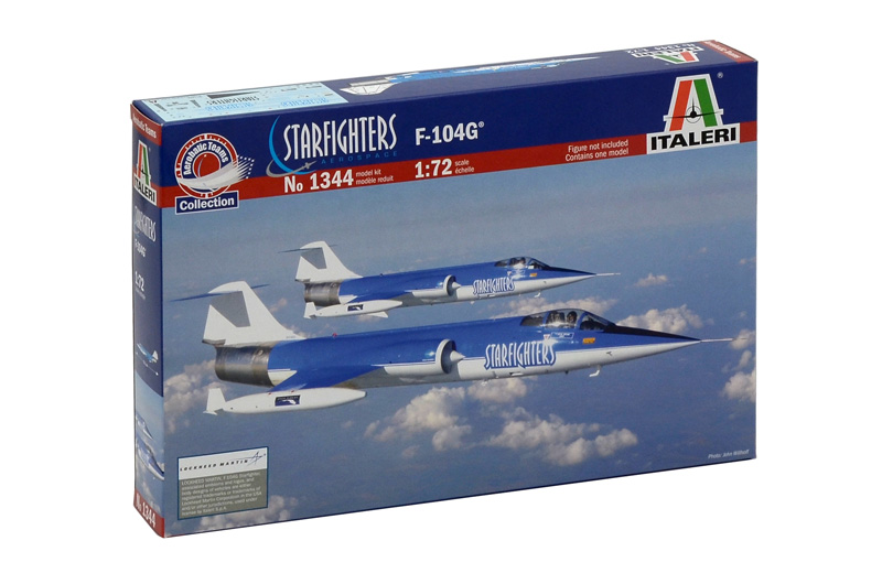 Модель Самолет F-104 Starfighter steam