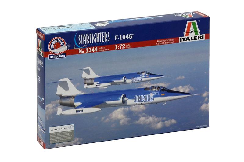Сборная модель Самолет F-104 Starfighter steam