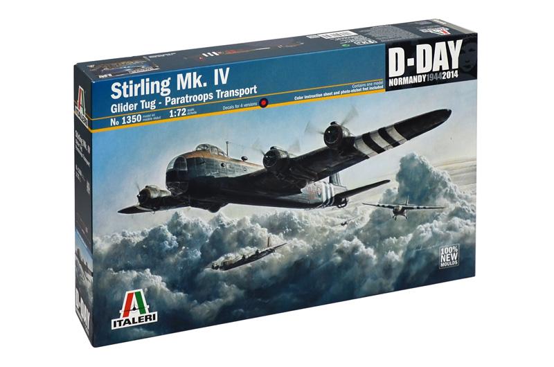 Сборная модель Самолет STIRLING Mk.IV