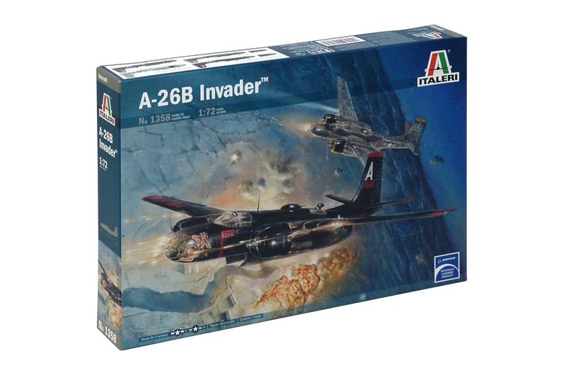 Сборная модель Самолет A - 26B INVADER