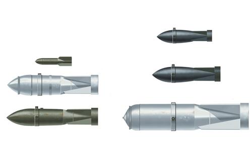Модель Набор бомб WWII German Aircraft Weapons-1