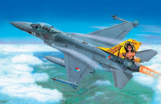 Самолет F-16A Fighting Falcon
