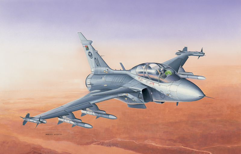 Модель Самолет JAS-39 Gripen Twin Seater