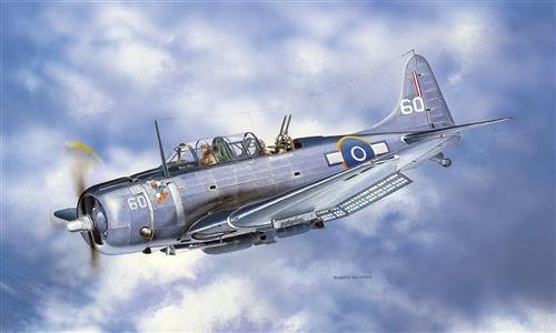 Модель Самолет SBD 5 Dauntless