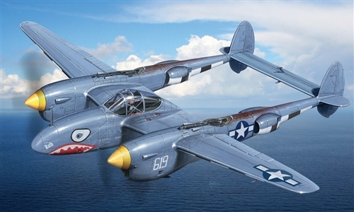 Модель Самолет P38/F-5E Lighting