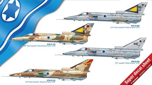 Модель Самолет KFIR C1/C2