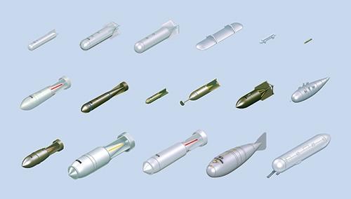 Сборная модель Набор бомб для Германских ВВС
