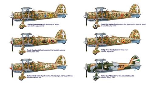 Самолет CR.42 Falco