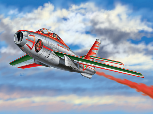 Сборная модель Самолет F-84F