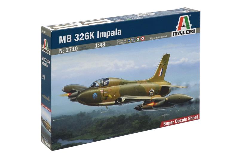 Сборная модель Самолет MB.326 IMPALA
