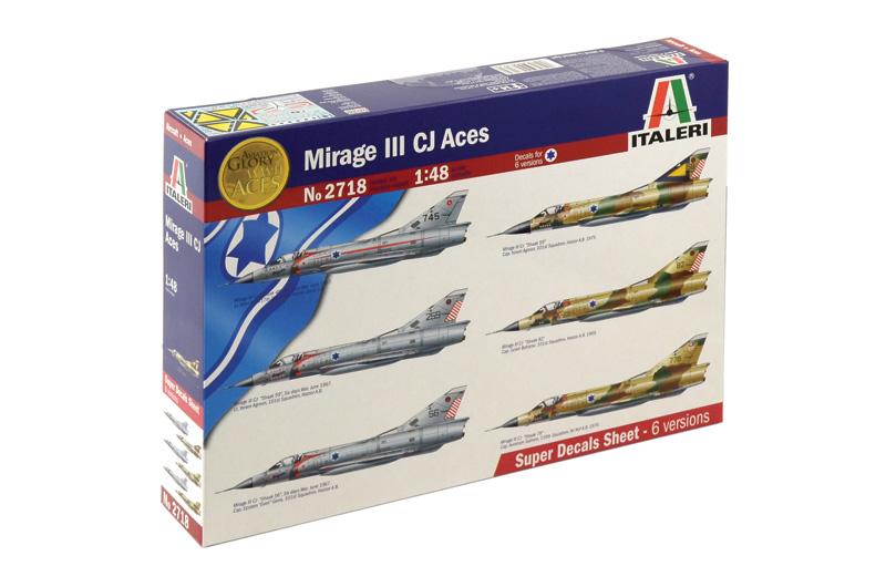 Модель Самолет MIRAGE III CJ ACES