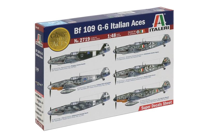 Сборная модель Самолет BF-109G-6 ITALIAN ACES