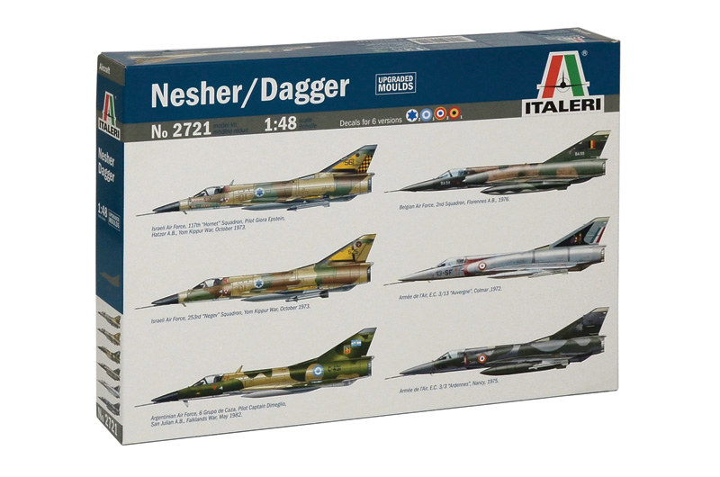 Модель Самолет Nesher/Dagger
